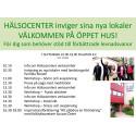 Öppet hus Hälsocenter Västerås 2015