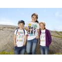 Årets t-shirtar designade av barn för Bris på KappAhl