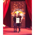 Spaceport Sweden winner of the Innovator of the Year Award at the Grand Travel Awards 2014
