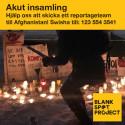 Insamling till Afghanistan