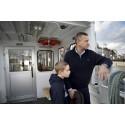 På måndag går första pendelbåten från Ekerö