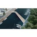 WSP vinnare av tävlingen om nya bron i Norrtälje Hamn