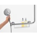hansgrohe Unica Comfort: Tukeva suihkutanko tuo turvaa ja mukavuutta suihkuun