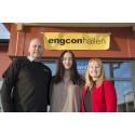 Engcon sätter namnet på hemortens nya idrottshall