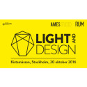 Designbyrån Ames Studio är moderator på Light & Design Summit den 20 Oktober