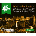 Ready, Set, Give! Xstream- proud sponsor of the 4K 4Charity Fun Run at NAB