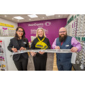 Charity ambassador opens two new South West opticians