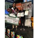 Mustafa Panshiri korad till Årets Unga Nyföretagare  2016