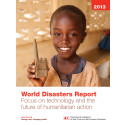 Rapport: World Disasters Report 2013
