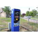 Cashless ticket machines in Elgin car parks