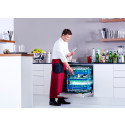 Ingen efterpolering av glas och bestick med ny snabb restaurangdiskmaskin från Miele - rekommenderas av Riedel