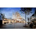 Skanska bygger kombinerat stadshus och stationshus i Växjö för cirka 580 miljoner kronor