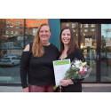 Djurskyddets hedersomnämnande till skodesignern Josefin Liljeqvist