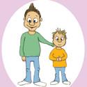 Hugo och hans lillebror