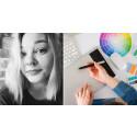 Silje studerer på nett: – Jeg er veldig glad i å jobbe kreativt
