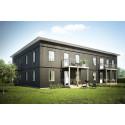 Skanska och IKEAs gemensamma boendekoncept BoKlok planerar att bygga 20 bostadsrätter på Fasseröd