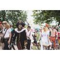Festival för cosplay mot nytt publikrekord
