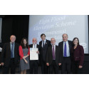 Line-up at Saltire awards ceremony