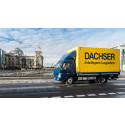 Dachser leverer med eldrevne lastbiler