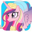 My Little Pony – Ett Kungligt bröllop har släppts som bokapp.