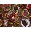Ginsill och tjäderpaté är två av nyheterna på Tyrols julbord