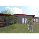 Bruno Mathsson-inspirerade hus till försäljning i Skillingaryd