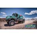 De Rooyn tiimi aikoo voittaa vuoden 2017 Dakar-rallin Goodyearin kuorma-autonrenkailla
