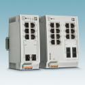 Nya 16-portars Switchar för industrin