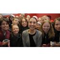 Barn i Jönköping hedrar kämpe för flickor i sexhandel