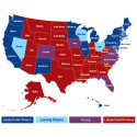 Fördel Obama i en av USA:s största opinionsmätningar