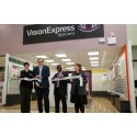 Local MP Gareth Snell joins Vision Express to officially open its new optical store at Tesco in Hanley