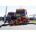 Skåne Truckshow växer och blir Sveriges största lastbilsträff.