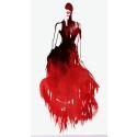 """""""Alexander McQueen - Savage Beauty"""" ritad av Stina Wirsén för Bildberättande på Bokmässan"""
