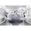 Audi åbner super effektivt lakeringsanlæg