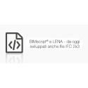 Da oggi realizzabili con BIMscript® e LENA anche i file IFC 2x3