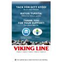 Viking Lines plastpåsar stöder miljöorganisationer