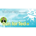 Faluskolor springer för Ted Åkerberg i andra upplagan av Run for Ted!
