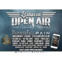 Nale spelar på Sabaton Open Air