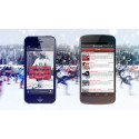 Appen Vasaloppet Vinter 2013 - bevaka dina vänner, nu med push för iPhone och Android