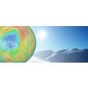 Ozonhullet er på vei mot Norge