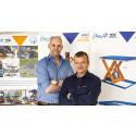 Det Blå-Orangea lyftbordsoriginalet etablerar sig i Danmark