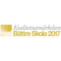 LBS Kreativa Gymnasiet Halmstad tilldelas Kvalitetsutmärkelsen Bättre Skola 2017