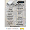 Join a workshop and help to improve the library service