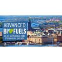 Inbjudan till presslunch vid Advanced Biofuels Conference på Arlanda 17 september