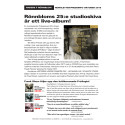 Anders F Rönnblom presstext