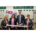 Local MP Alex Chalk joins Vision Express to officially open its new optical store at Tesco in Cheltenham