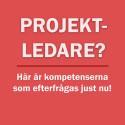 Topp 20: Hetaste kompetenserna för projektledare