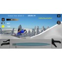 The Finnish snowmobile game Sled Bandit has been released for iOS and Android devices