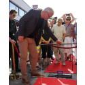 Jörgen Elofsson sänker ner sin sten