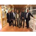 Bra att lokala aktörer visar vägen - miljöministern berömde Tekniska verken i Linköping vid sitt besök